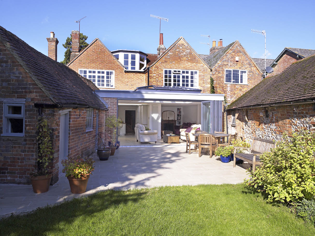 Orangeries enhance listed and period properties.