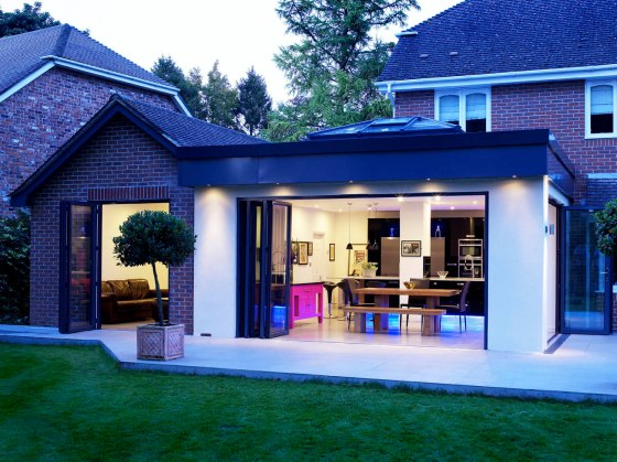 Apropos Orangery Extension and Home Hub