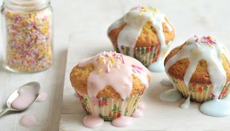 messy fairycakes